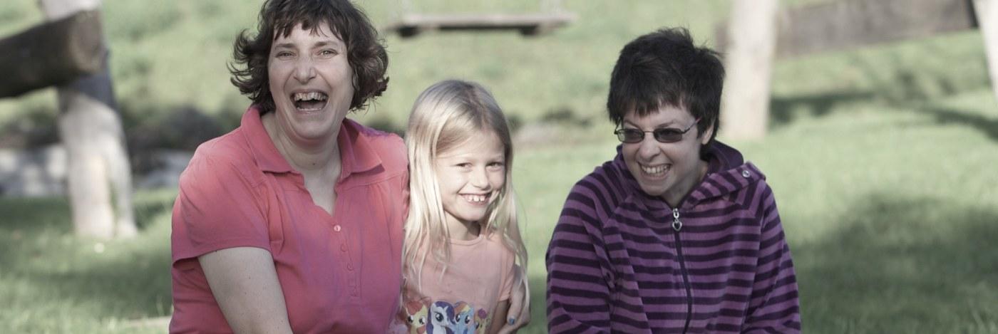 Claudia, Stella, Katrin